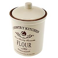 Банка для продуктовTerracota Кухня в стилеКантри 18 см TLY301-2-CK-ALTLY301-2-CK-ALБанка Кухня в стиле Кантри, выполненная из жаропрочной керамики и покрытая высококачественной глазурью, станет незаменимым помощником на кухне. В ней будет удобно хранить разнообразные сыпучие продукты, такие как кофе, крупы, макароны или специи. Емкость легко закрывается крышкой. Оригинальный дизайн позволит сделать такую емкость отличным подарком на любой праздник. Характеристики:Материал: керамика. Диаметр основания: 11,5 см. Высота (без крышки): 14,7 см. Высота (с крышкой): 18 см. Размер упаковки: 18,5 см х 13,5 см х 13 см. Изготовитель: Китай. Артикул: TLY301-2-CK-AL.