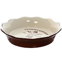 Форма для выпечки Terracotta Кухня в стиле Кантри TLY081-CK-ALTLY081-CK-ALДля всех любителей домашней выпечки эта форма будет отличным выбором. Форма выполнена из жаропрочной керамики, что обеспечивает оптимальное распределение тепла. Изделие покрыто высококачественной глазурью. Характеристики:Материал: керамика. Диаметр по верхнему краю: 26 см. Диаметр основания: 20,5 см. Высота: 5,5 см. Размер упаковки: 26 см х 26,5 см х 5,5 см. Производитель: Китай. Артикул: TLY081-CK-AL.