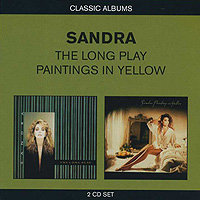 Сандра Sandra. The Long Play / Paintings In Yellow (2 CD) burning guitar pattern unframed wall art canvas paintings