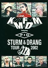 KMFDM: Strum And Drang Tour 2002 kmfdm kmfdm rocks milestones reloaded