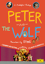 Claudio Abbado: Sting, Prokofiev - Peter And The Wolf sting sting the complete studio collection 16 lp