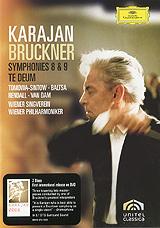 Bruckner, Herbert Von Karajan: Symphonies 8 & 9 / Te Deum (2 DVD)