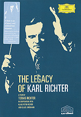 A film by Tobias Richter in cooperation with Klaus Peter Richter and Klaus Lindemann, this portrait documents the life and work of the legendary conductor and organist Karl Richter - featuring rare interviews, unpublished archive material and performance highlights from Richter's illustrious career.