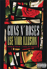 Guns N' Roses: Use Your Illusion I: World Tour 1992 In Tokyo wars guns and votes
