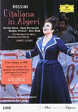 Rossini, James Levine: L'Italiana In Algeri (2 DVD) анна нетребко the metropolitan opera orchestra and chorus anna netrebko live at the metropolitan opera