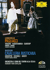 Mascagni, Herbert von Karajan: Cavalleria Rusticana / Leoncavallo, Herbert von Karajan: Pagliacci bruckner herbert von karajan symphonies 8