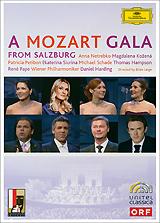 Mozart, Daniel Harding: A Mozart Gala From Salzburg anna netrebko live from the salzburg festival 3 blu ray