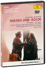 Wagner, James Levin: Tristan Und Isolde (2 DVD) кепка arcteryx arcteryx patch trucker оранжевый