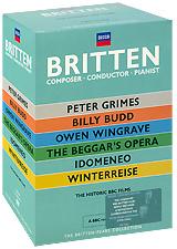 Фото Britten: Composer / Conductor / Pianist (7 DVD). Покупайте с доставкой по России