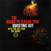 The Oscar Peterson Trio Oscar Peterson Trio. Bursting Out. With The All Star Big Band (LP)