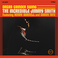 Jimmy Smith. Organ Grinder Swing (LP)