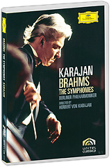 Brahms, Herbert Von Karajan: Symphonies (2 DVD) brahms brahms symphony no 4