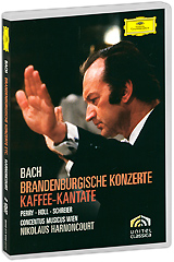 Bach, Nikolaus Harnoncourt: Brandenburgische Konzerte (2 DVD) блокада 2 dvd