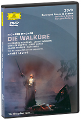 Wagner, James Levine: Die Walkure (2 DVD) wagner james levine das rheingold