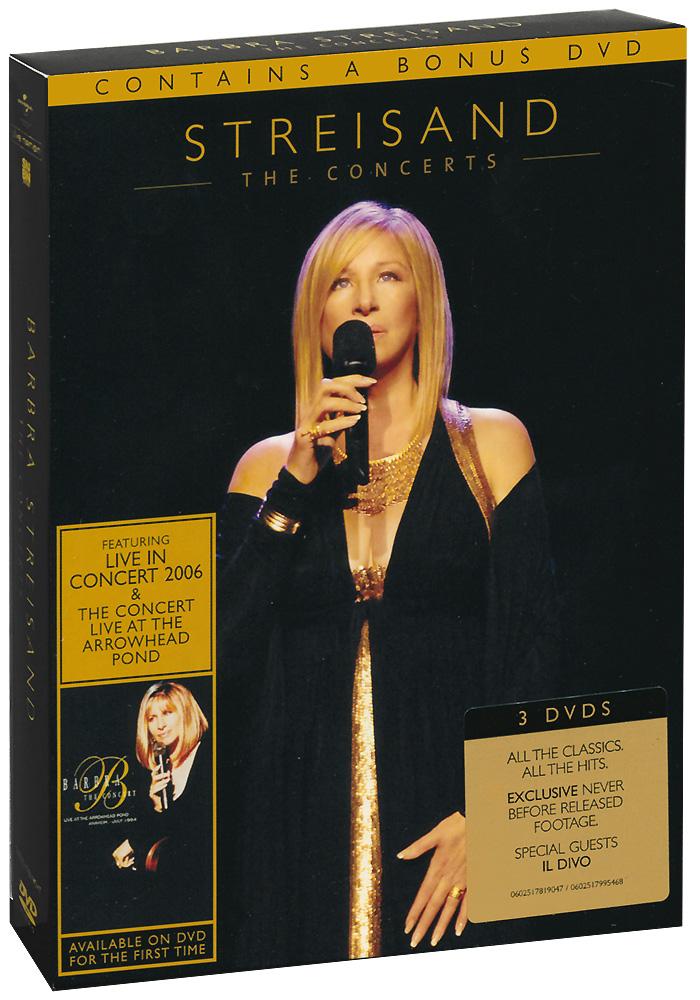 Barbra Streisand: The Concerts (3 DVD) барбра стрейзанд barbra streisand encore movie partners sing broadway lp