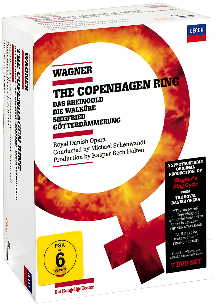Wagner: The Copenhagen Ring (7 DVD) copenhagen
