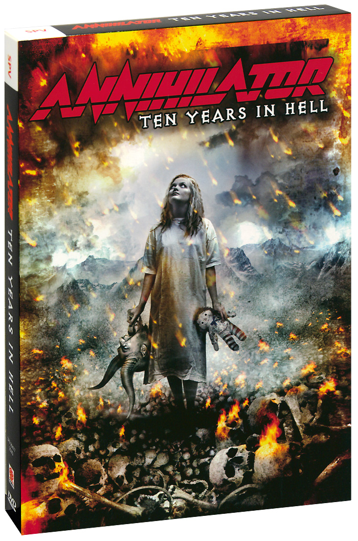 Annihilator: Ten Years In Hell (2 DVD) grant morrison annihilator