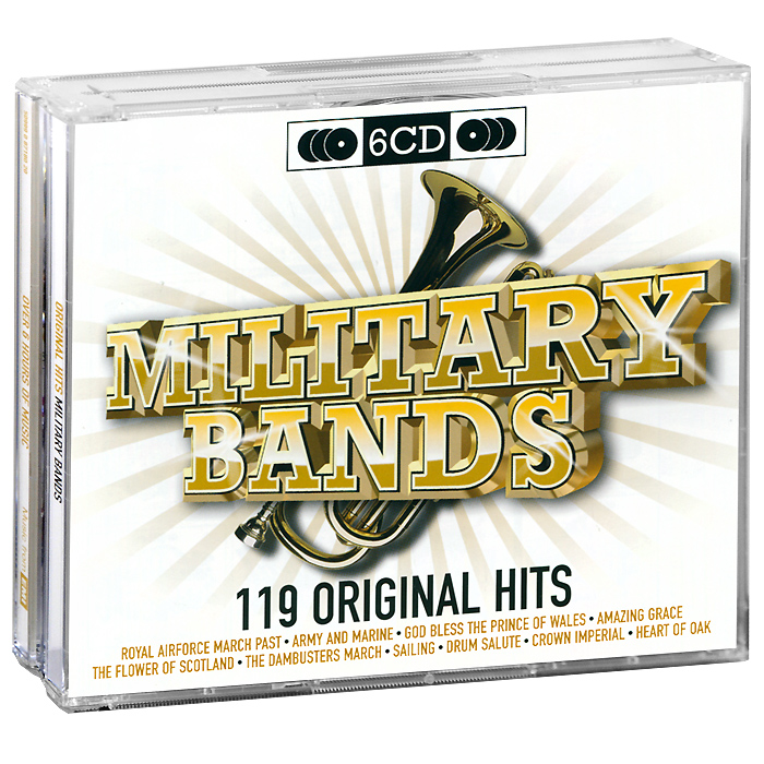 Original Hits.  Military Bands (6 CD) EMI Records Ltd.,ООО Музыка