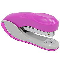 Степлер Colourplay, для скоб №24/6-26/6, цвет: розовыйICS610/PLПрактичный степлер Colourplay с вертикальной загрузкой скоб в эргономичном корпусе из яркого пластика. При загрузке скоб верхняя крышка фиксируется в открытом положении. Степлер вмещает свыше 50 скоб и рассчитан на скрепление до 16 листов. Размер скоб: №24/6-26/6. Степлер снабжен инфо-окном, позволяющим оценить количество скоб.Характеристики:Размер: 13,5 см х 6,5 см х 3,5 см. Материал: пластик, металл. Цвет: розовый.