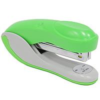 Степлер Colourplay, для скоб №24/6-26/6, цвет: зеленыйICS610/GNПрактичный степлер COLOURPLAY с вертикальной загрузкой скоб в эргономичном корпусе из яркого пластика. При загрузке скоб верхняя крышка фиксируется в открытом положении. Степлер рассчитан на скрепление до 20 листов. Размер скоб: №24/6. Цвет: неоновый зеленый Характеристики:Размер: 13,5 см х 6,5 см х 3,5 см. Материал: пластик, металл. Цвет: зеленый.