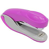 Степлер Colourplay, для скоб №10, цвет: розовыйICS600/PLПрактичный степлер Colourplay с вертикальной загрузкой скоб в эргономичном корпусе из яркого пластика. При загрузке скоб верхняя крышка фиксируется в открытом положении. Степлер вмещает 50 скоб и рассчитан на скрепление до 12 листов. Размер скоб: №10.Характеристики:Размер: 9,5 см х 4,5 см х 2,5 см. Материал: пластик, металл. Цвет: розовый.