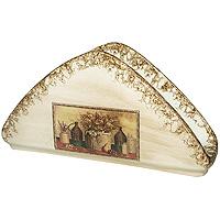 Салфетница НатюрмортLCS996V-ALСалфетница Натюрморт в бежевой цветовой гамме, изготовлена из керамики. Такая салфетница великолепно украсит праздничный стол. Характеристики:Материал:керамика.Размер салфетницы: 21 см х 5,5 см х 10,5 см.Размер упаковки: 13 см х 13,5 см х 19 см.Изготовитель: Италия.Артикул: LCS996V-AL.