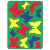 Бомик Пазл для малышей Бабочки бомик пазл для малышей коврик мозаика