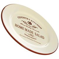 Тарелка Terracotta Кухня в стиле Кантри 21 см TLY802-2-CK-ALTLY802-2-CK-ALЗакусочная тарелка Кухня в стиле Кантри изготовлена из жаропрочной керамики и покрыта высококачественной глазурью. Она способна не только украсить ваш дом, но так же пополнить вашу коллекцию.Данная посуда идеально подходит для выпечки, приготовления различных блюд и разогревания пищи в духовом шкафу или микроволновой печи. Может использоваться для хранения продуктов, в том числе в холодильнике. Характеристики: Материал:керамика. Диаметр тарелки: 21 см. Высота тарелки: 2,2 см. Размер упаковки: 21,5 см х 21,5 см х 2,5 см. Производитель: Италия. Изготовитель: Китай. Артикул: TLY802-2-CK-AL. Торговая марка Terracotta - это коллекции разнообразной посуды для сервировки стола, хранения продуктов и приготовления пищи из жаропрочной керамики, покрытой высококачественной глазурью. Изделия Terracotta идеально подходят для выпечки, приготовления различных блюд и разогревания пищи в духовом шкафу или микроволновой печи. Может использоваться для хранения продуктов, в том числе в холодильнике. При приготовлении или охлаждении пищи рекомендуется использовать постепенный нагрев или охлаждение. Посуда торговой марки Terracotta совмещает в себе современные технологии и новые идеи, благодаря чему достигаются высокое качество, разнообразие форм и дизайнов.