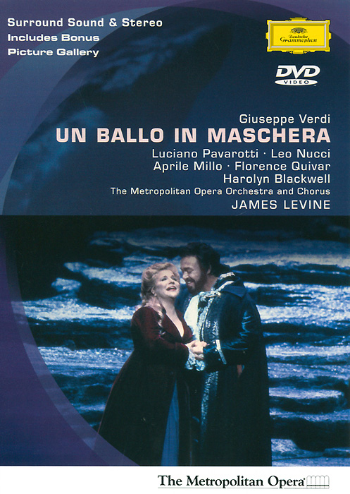 Verdi, James Levine: Un Ballo In Maschera verdi james levine luisa miller