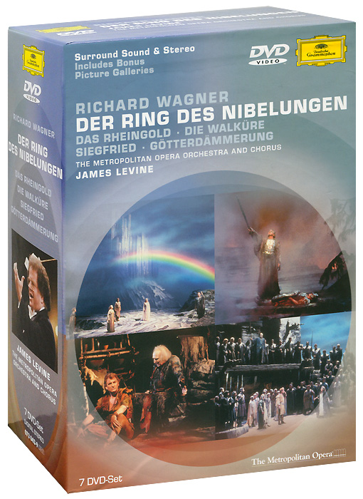Wagner, James Levine: Der Ring Des Nibelungen (7 DVD) wagner james levine das rheingold