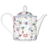 Чайник заварочный Букингем, 1 лIM15018A/1-A218ALЗаварочный чайник Букингем сочетает в себе изысканный дизайн с максимальной функциональностью. Красочность оформления придется по вкусу и ценителям классики, и тем, кто предпочитает утонченность и изысканность. Чайник выполнен из керамики. Нежный цветочный рисунок придает модели особый шарм, который понравится каждому.Размер чайника: 11,5 см х 12,5 см х 10 см.