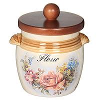 Банка для продуктов LCS Элианто Flour 0,75 л LCS670MLF-EL-AL банка для продуктов lcs элианто coffee 0 5 л lcs670рlс el al