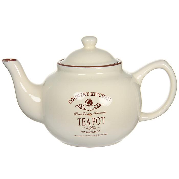 Чайник заварочный Terracotta Кухня в стиле Кантри, 1 л салатник terracotta дерево жизни диаметр 22 см