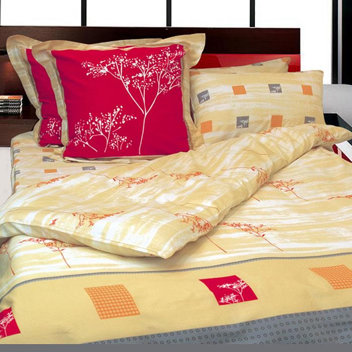 Комплект белья Дюна (2-х спальный КПБ, сатин, 4 наволочки 50х70, 70х70)Т-0750-01_2-спальныйКомплект постельного белья Дюна, изготовленный из сатина, поможет вам расслабиться и подарит спокойный сон. Постельное белье имеет изысканный внешний вид и обладает яркостью и сочностью цвета. Комплект состоит из пододеяльника, простыни и четырех наволочек. Все предметы комплекта цельнокроеные.Благодаря такому комплекту постельного белья вы сможете создать атмосферу уюта и комфорта в вашей спальне.Сатин производится из высших сортов хлопка, а своим блеском, легкостью и на ощупь напоминает шелк. Такая ткань рассчитана на 200 стирок и более. Постельное белье из сатина превращает жаркие летние ночи в прохладные и освежающие, а холодные зимние - в теплые и согревающие. Благодаря натуральному хлопку, комплект постельного белья из сатина приобретает способность пропускать воздух, давая возможность телу дышать. Одно из преимуществ материала в том, что он практически не мнется и ваша спальня всегда будет аккуратной и нарядной. Страна:Россия. Материал:сатин (100% хлопок). В комплект входят:Пододеяльник - 1 шт. Размер: 175 см х 210 см.Простыня - 1 шт. Размер: 240 см х 270 см.Наволочка - 2 шт. Размер: 50 см х 70 см.Наволочка - 2 шт. Размер: 70 см х 70 см. Коллекция постельного белья Tete-a-Tete - российская новинка, выполненная в лучших европейских традициях из роскошного премиум-сатина (более плотного и мягкого по сравнению с обычным сатином). Потребительские качества постельного белья Tete-a-Tete обусловлены выбором материала для пошива. Компания использует 100% египетский хлопок для изготовления тканей. Качество красителей и ткани надолго позволяют сохранить яркость цветов. Постельное белье Tete-a-Tete будет отличным подарком.