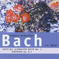 J.S. Bach. Suite No.3 / J.C. Bach. Sinfonia Op. 9,1/ J.S. Bach. English Suite No. 1 mika sinfonia pop