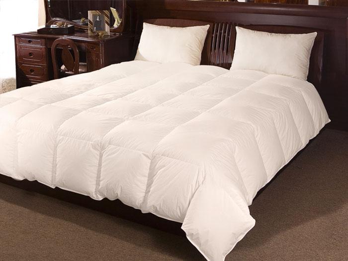 "Одеяло ""Бригитта"", 140 см х 205 см, цвет: бежевый"