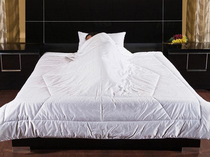 Одеяло Фен-Шуй, 200 см х 220 см12fs31106-29Белое одеяло Фен-Шуй - это неповторимое сочетание идеального цвета и уникальной стежки, благодаря которой одеяло надежно облегает ваше тело. В такой мягкой колыбели вы надежно защищены от негативной энергии, а чистый белый цвет одеяла впитывает положительную энергию и передает ее вам. Наполнитель одеяла, гипоаллергенный экофайбер, гарантирует комфортный микроклимат в любое время года, что делает одеяло универсальным. Чехол выполнен из сатин-жаккарда, что дарит одеялу надежное переплетение и переливы ткани. Чехол обрамлен атласным кантом в тон.Характеристики:Материал чехла: сатин-жаккард. Наполнитель: экофайбер. Размер одеяла: 200 см х 220 см. Производитель: Россия.Степень теплоты: 3. ТМ Primavelle - качественный домашний текстиль для дома европейского уровня, завоевавший любовь и признательность покупателей. ТМ Primavelleрада предложить вам широкий ассортимент, в котором представлены: подушки, одеяла, пледы, полотенца, покрывала, комплекты постельного белья. ТМ Primavelle- искусство создавать уют. Уют для дома. Уют для души.