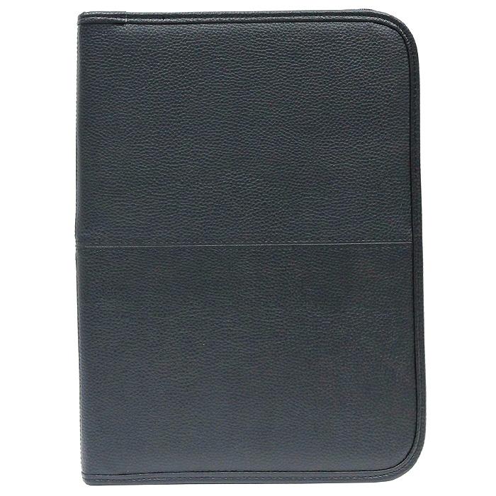 """Папка для документов """"Index"""" на молнии, цвет: черный"""