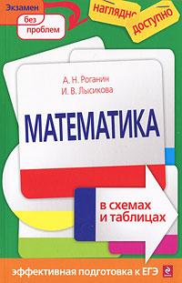 А. Н. Роганин, И. В. Лысикова Математика в схемах и таблицах математика вводный курс учебное пособие
