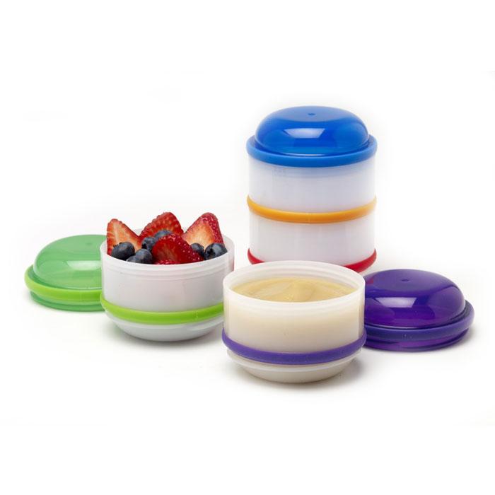Набор контейнеров Dr.Brown's, 4 шт игрушка для животных каскад барабан с колокольчиком 4 х 4 х 4 см