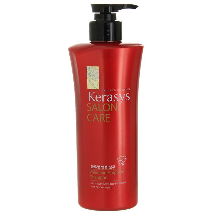 Шампунь для волос Kerasys. Salon Care, объем, 470 мл894316Шампунь для волос Kerasys. Salon Care с трехфазной системой восстановления укрепляет тонкие и слабые волосы. Природный протеин, содержащийся в экстракте моринги, обогащенный витаминами экстракт базилика и технология ампульной терапии увеличивает объем и пышность тонких и слабых волос. Трехфазная система восстановления: Природный протеин, содержащийся в экстракте плодов моринги, укрепляет и оздоравливает структуру поврежденных волос.Содержащиеся в экстракте базилика витамины придают волосам силу и упругость.Компонент природного кератина, полифенол, компонент красного вина и кристаллический компонент делают волосы здоровыми. Характеристики:Объем: 470 мл. Артикул: 894316. Товар сертифицирован.