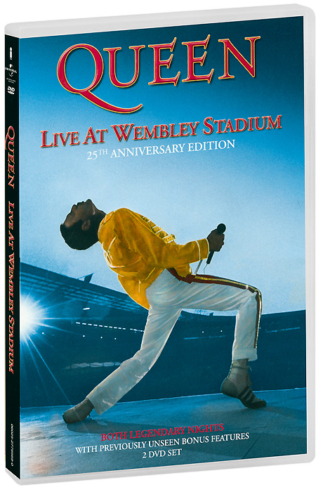 Queen: Live At Wembley Stadium (2 DVD) genesis live at wembley stadium