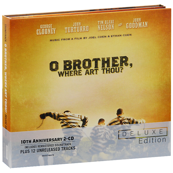 O Brother, Where Art Thou? Deluxe Edition (2 CD) cd led zeppelin ii deluxe edition