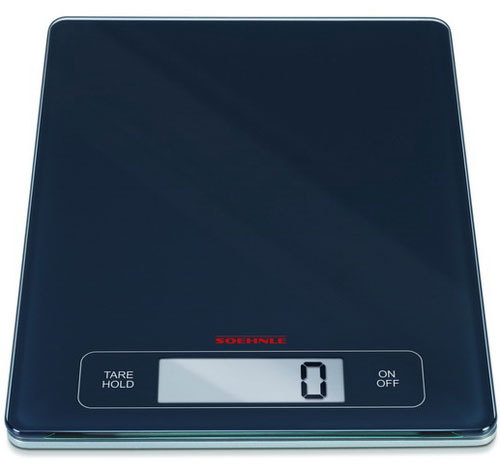 Весы кухонные электронные Page Profi, цвет: черный весы soehnle pageprofi 67080