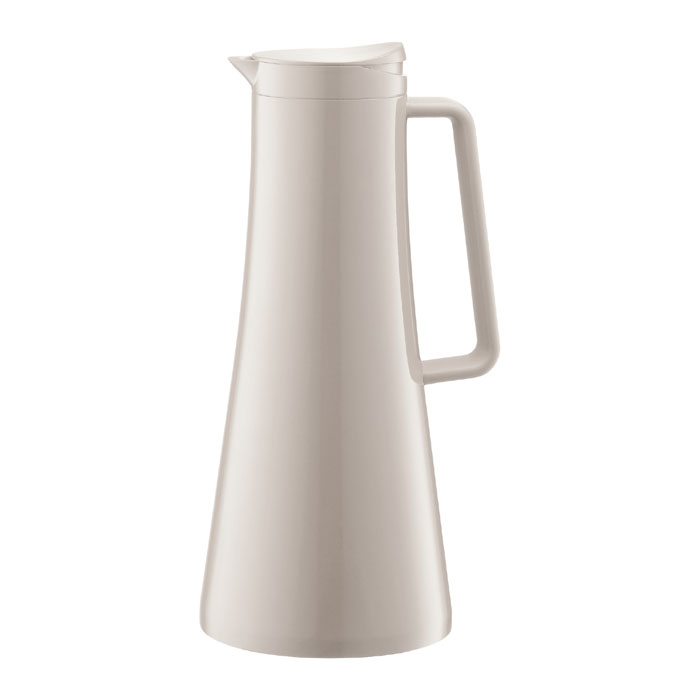 Термокувшин Bodum Bistro 1,1л, цвет: белый 11189-913 кофейник bodum brazil с прессом цвет белый 1 л
