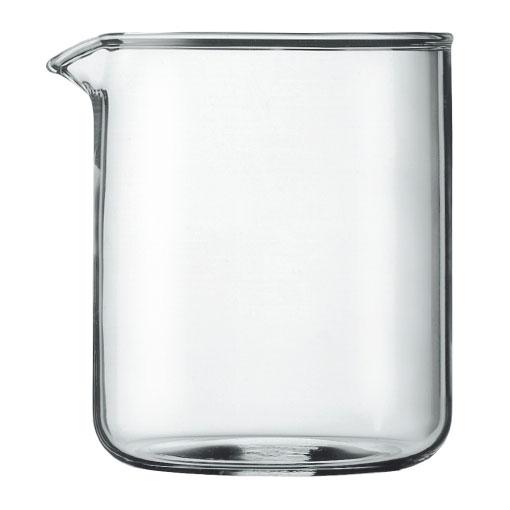 Колба для кофейников Bodum, 0,5 л1504-10Колба для кофейников Bodum изготовлена из боросиликатного стекла, которое придает изделию лаконичный дизайн, обладает жаропрочностью и потрясающей легкостью. Стекло сохраняет ваш кофе или чай приятно теплым. Колба прослужит вам долгое время и не потускнеет даже после многократного мытья в посудомоечной машине.Колба подходит для кофейников серии Bistro и Chambord. Характеристики:Материал:боросиликатное стекло. Объем колбы:0,5 л. Высота колбы:12 см. Диаметр колбы по верхнему краю (без учета носика):10 см. Размер упаковки:10 см х 13 см х 10 см. Производитель: Швейцария. Артикул: 1504-10.