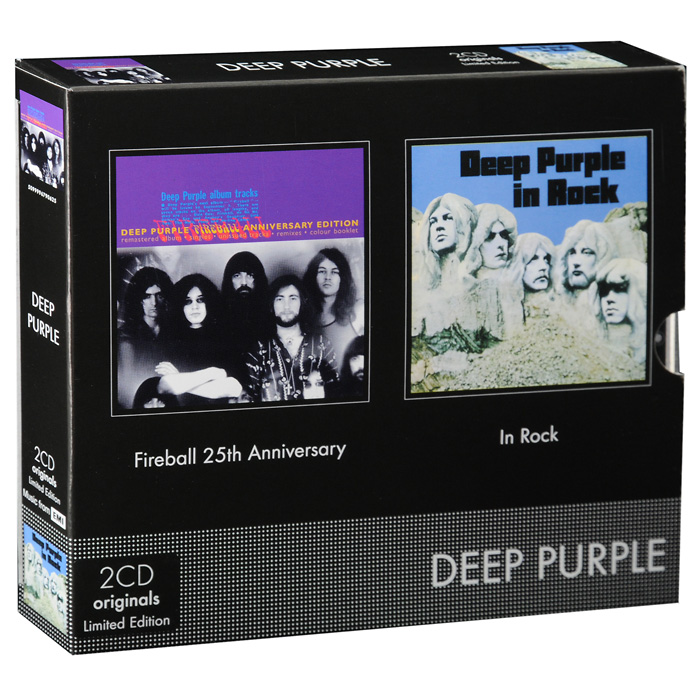 Deep Purple Deep Purple. Fireball 25th Anniversary / In Rock. Limited Edition (2 CD) cd dvd deep purple deepest purple the very best of 30th anniversary edition