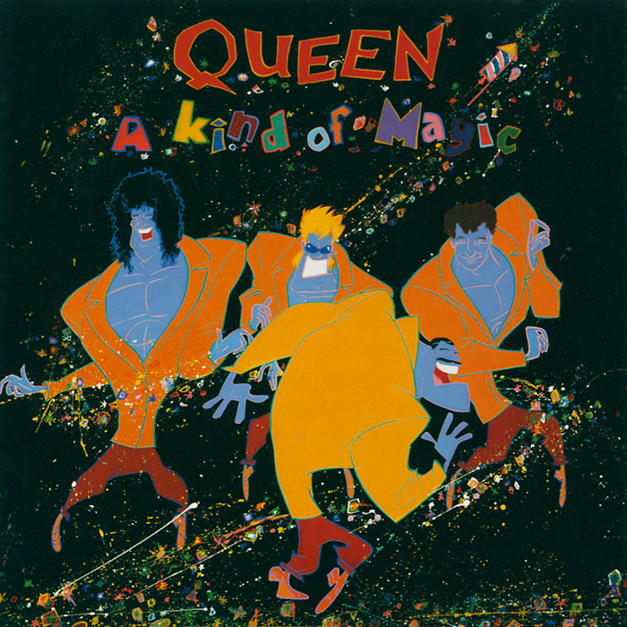 Queen Queen. A Kind Of Magic cd queen a kind of magic 2011 remastered