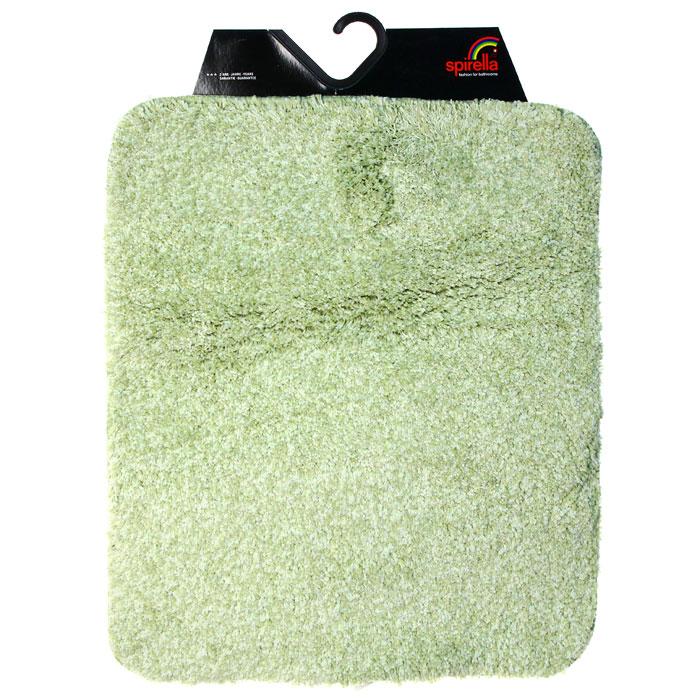 Коврик для ванной комнаты Gobi, цвет: зеленый чай, 55 х 65 см1012428Коврик для ванной комнаты Gobi выполнен из полиэстера высокого качества. Прорезиненная основа коврика позволяет использовать его во влажных помещениях, предотвращает скольжение коврика по гладкой поверхности, а также обеспечивает надежную фиксацию ворса. Коврик добавит тепла и уюта в ваш дом. Характеристики:Материал:100% полиэстер. Размер:55 см х 65 см. Производитель: Швейцария. Изготовитель: Китай. Артикул: 101428.