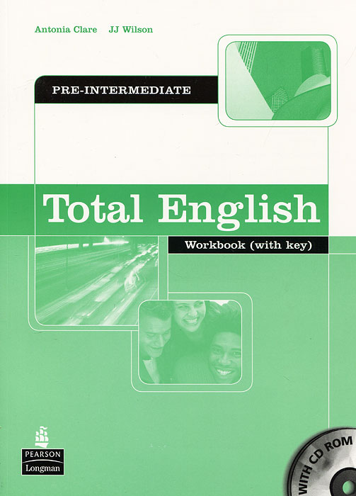 Total English: Pre-Intermediate: Workbook: With Key (+ CD-ROM) total english intermediate student s book dvd rom